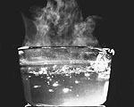 água quente