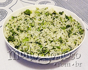 Arroz de Broccoli